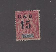 """GUADELOUPE - 47 - MNH - 1903 - """"G & D 15"""" TYPE a O/P ON FRENCH COLONIES"""