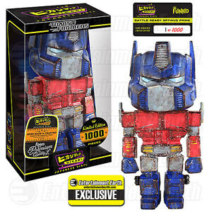 Transformers Battle Ready Optimus Prime Hikari Premium Japanese Vinyl Funko 1000