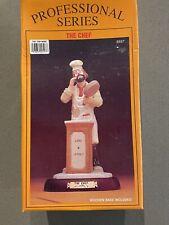 Emmett Kelly Jr. The Chef / Cook Figurine Professional Series Flambro # 9597