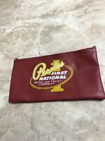 Vintage Peoples First National Bank and Trust Company Deposit Bag Pennsylvania