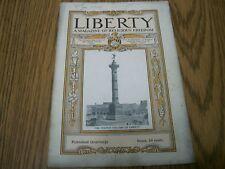 liberty magazine 1909 a magazine of religious freedom vol 4 second quarter 1909