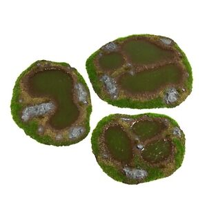 Resin Swamp Painted - Ready-To-Play Scenery and Terrain - WH40K, AoS, LoTR SBG