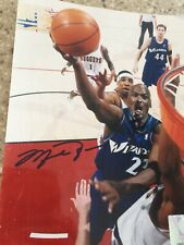 Michael Jordan 2002/03 Signed Auto Photo - Washington Wizards