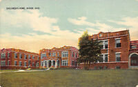 Akron Ohio 1914 Postcard Children's Home