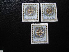 SUEDE - timbre yvert et tellier n° 1989 x3 obl (A29) stamp sweden (Y)