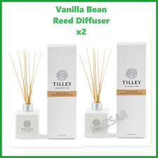 TILLEY Reed Diffuser VANILLA BEAN X 2  -  AUSTRALIAN MADE