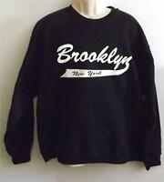 BROOKLYN NEW YORK JERZEES CREW NECK SWEATSHIRT Many  Colors Avail.  SIZES SM-5XL