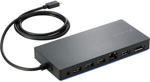 hp Elite USB-C Dockingstation 844549-001 inkl. 45 Watt Netzteil TPA-B01 HDMI DP