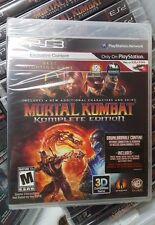Mortal Kombat Complete Edition (PlayStation 3,2012) New 1st release Edition MINT
