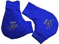 Handschuhe, Ruderhandschuhe royal blau mit Aufdruck, Rudern, Rowing