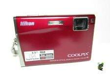 "Nikon S60 10.0MP HD Digital Camera w/ 3.5"" Touch Screen 5x Optical VR Zoom Lens"