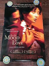 IN THE MOOD FOR LOVE 27X40 DS MOVIE POSTER ONE SHEET NEW AUTHENTIC