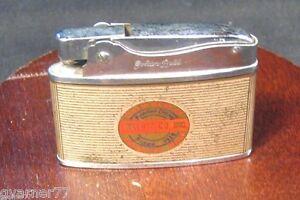 Vintage Wald & Co Fireworks Golden Bell Lighter Kansas City Missouri Litho Ad