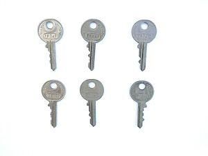 FP series Classic Car Keys genuine Wilmot Breeden Union new old stock