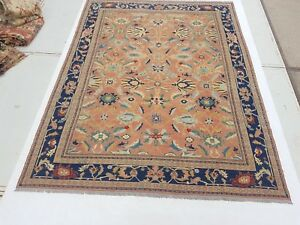 11'5 x 8'9 Antique Handwoven Sumak Area Rug Wool Kilim Flat Weave Soumak 7276