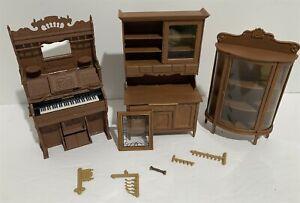 Dollhouse Furniture HUTCH Organ Cabinet Kitchen China Chrysnbon 1:12 Lot