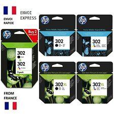 Cartouches d'encre Original HP 302 302XL Noir & Couleur Pack / Multipack