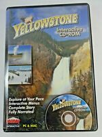Yellowstone Interactive CD-ROM 2002 Holiday Interactive PC & Mac ~ New Sealed