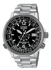 RELOJ CITIZEN AS2020-53E RADIOCONTROLADO PILOT ACERO