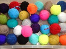 job lot DK acrylic wool oddments. 20 balls (8g-10g each ball)