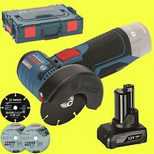 Bosch Cordless Angle Grinder Gws 12V-76 1 x 4,0 Ah 10,8 without Charger L-BOXX