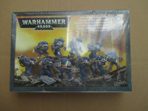 D11C46 SPACE MARINE TACTICAL SQUAD WARHAMMER 40000 W40K (2012) SEALED