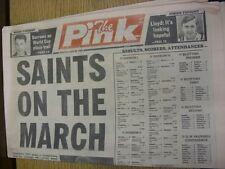28/04/1990 COVENTRY evening Telegraph il rosa: principali titolo recita: SANTI Marc
