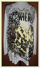aprico  edles Designershirt mit Pailletten  Gr.48