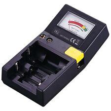 Batterietester Batterie Prüfer  für AAA, AA, C, D, 9 Volt , Knopfzellen