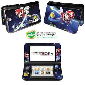 Super Mario Vinyl Skin Sticker for Nintendo 3DS XL