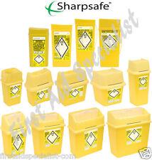 Sharps Waste Bin Box 0.2 Litre- 30 Litre Medical Lab Supplies Disposables Travel