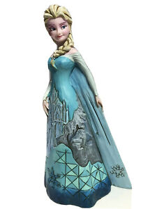 Disney Traditions Enesco Jim Shore FORTRESS OF FROST Elsa Figurine 4046035