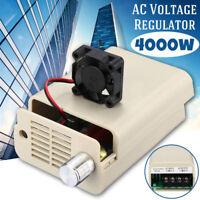 4000W 220V AC Scr Elettronico Volt Regolatore di Velocità Motore Attrezzi Nuovo