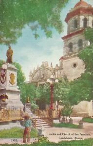 GUADALAJARA - Garden And Church of San Francisco Jardin - Mexico