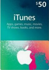 $50 Apple iTunes Gift Card