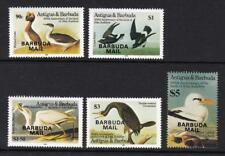 BARBUDA 1985 BIRDS AUDUBON OVERPRINTED BARBUDA MAIL SG.794/7 + M/S STAMP MNH