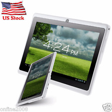 7'' HD Quad Core 8GB WIFI Tablet PC Google Android 4.4 KitKat 8GB Dual Camera US