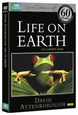 LIFE ON EARTH - DAVID ATTENBOROUGH - NEW / SEALED DVD - UK STOCK