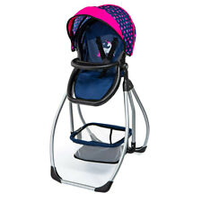 Bayer 77cm 3 in 1 Convertible High Chair/swing/bed Portable Doll Play Toy Set