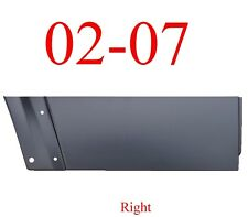 02 07 Jeep Liberty Right Rear Lower Door Skin Outer Panel 0486-174