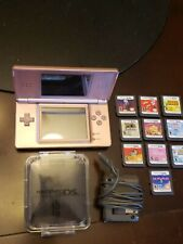 Nintendo Ds Lite Package games 10 case charger big nice package
