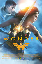 Wonder Woman - original DS movie poster 27x40 FINAL