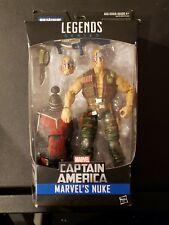"Marvel Legends Series Captain America Marvel's Nuke 6"" Action Figure"