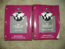 1997 Ford  F 250 F 350 F Super Duty Original Service Manuals