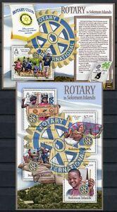 Salomon-Inseln 2013 Rotary Kinder Children Postfrisch MNH