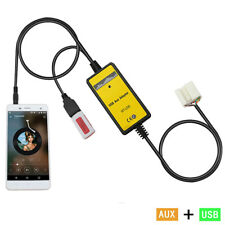 Car USB Mp3 Player Interface AUX In Adapter Fit For Honda Accord Civic Odyssey