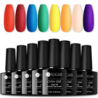 UR SUGAR 8 Bottles Weihnachten Rot Nagel Gellack Soak off Gel UV Nagellack Kit
