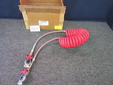SLOAN PARKER GLAD HAND EMERGENCY AIR LINE BRAKE SEMI TRUCK TRAILER RED 3410503