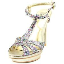 Platform & Wedge Synthetic Multi-Colored Shoes for Women