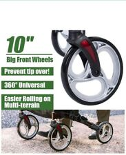 Beyour Walker Upright Rollator Walker Euro Style Stand Up Walking Aid White.